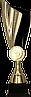 Кубок  7217, золотисто'-черный