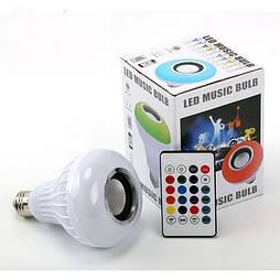 Лампа Bluetooth с динамиком, пультом ДУ и разноцветным свечением