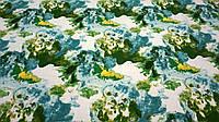 Ткань лен-вискоза красочными пятнами, фото 1