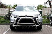 Защита переднего бампера (кенгурятник)  Mitsubishi Outlander 2016+, фото 1