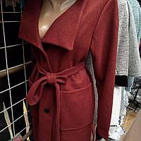 Пальто женское кашемир, разные цвета