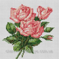 """Набор алмазной вышивки (мозаики) """"Три розы"""""""