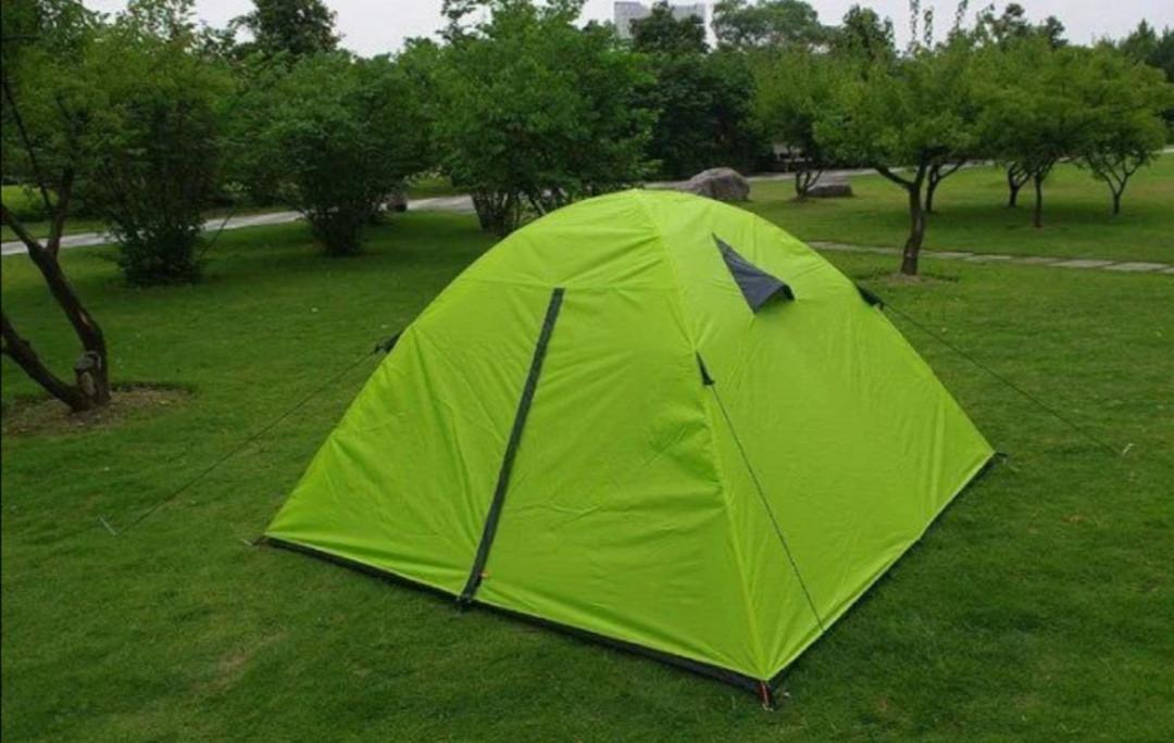 Палатка 6-ти местная двухслойная туристическая