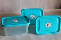 Набор пищевых контейнеров с клапаном ( Судочки пищевые)