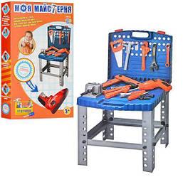 Набор инструментов для ребенка Limo Toy чемодан-стол, 58  предметов