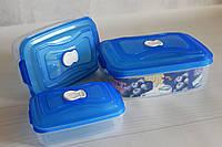 Набор контейнеров с клапаном ( Судочки пищевые)