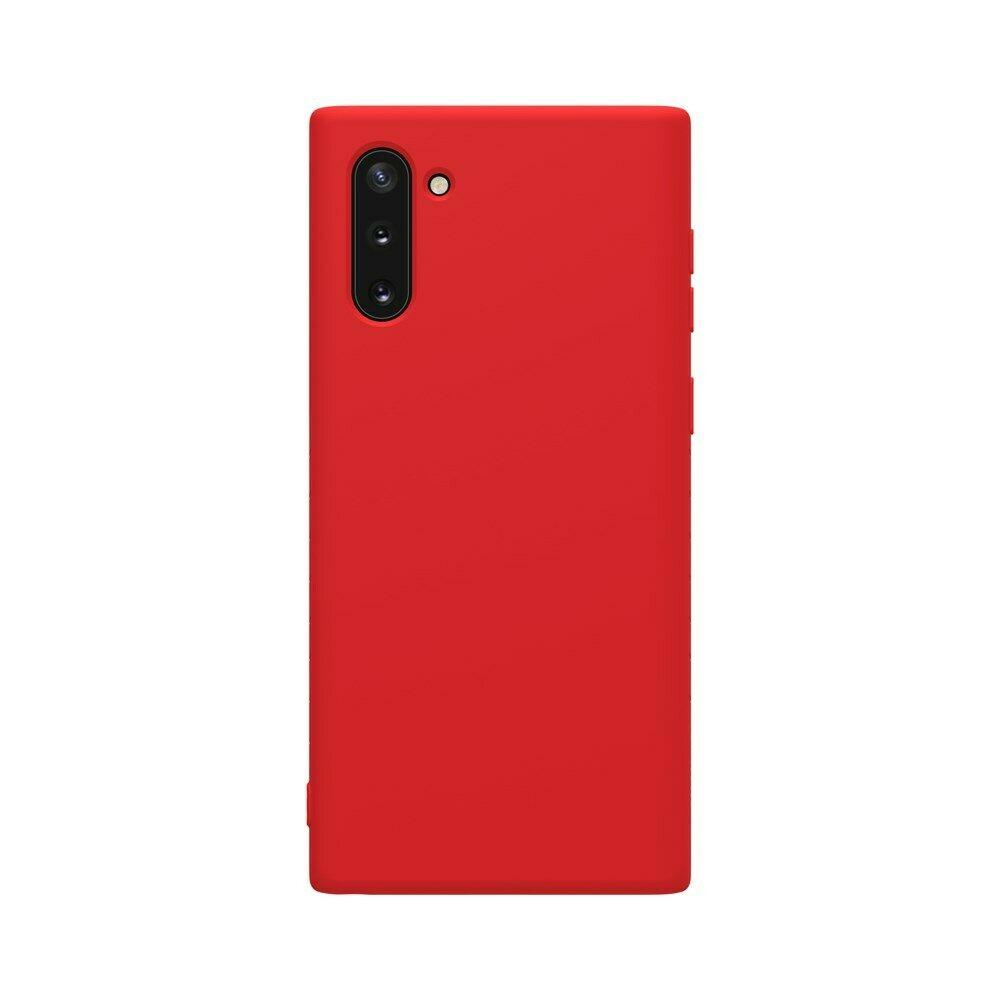 Nillkin Samsung Galaxy Note 10 Rubber-wrapped Protective Case Red Резиновый