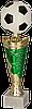 Кубок 8293, футбольный, золотисто'-зеленый