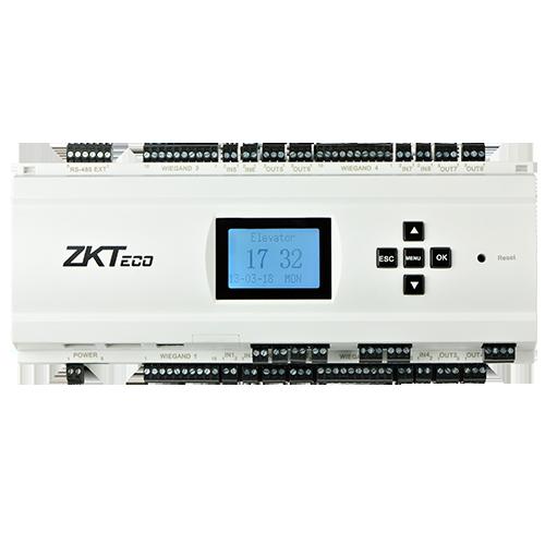 Контроллер ограничения доступа лифта на этажи ZKTeco EC10Box