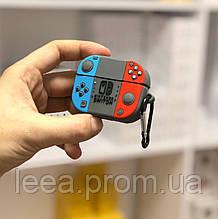 Чехол 3D для Airpods PRO Nintendo с карабином