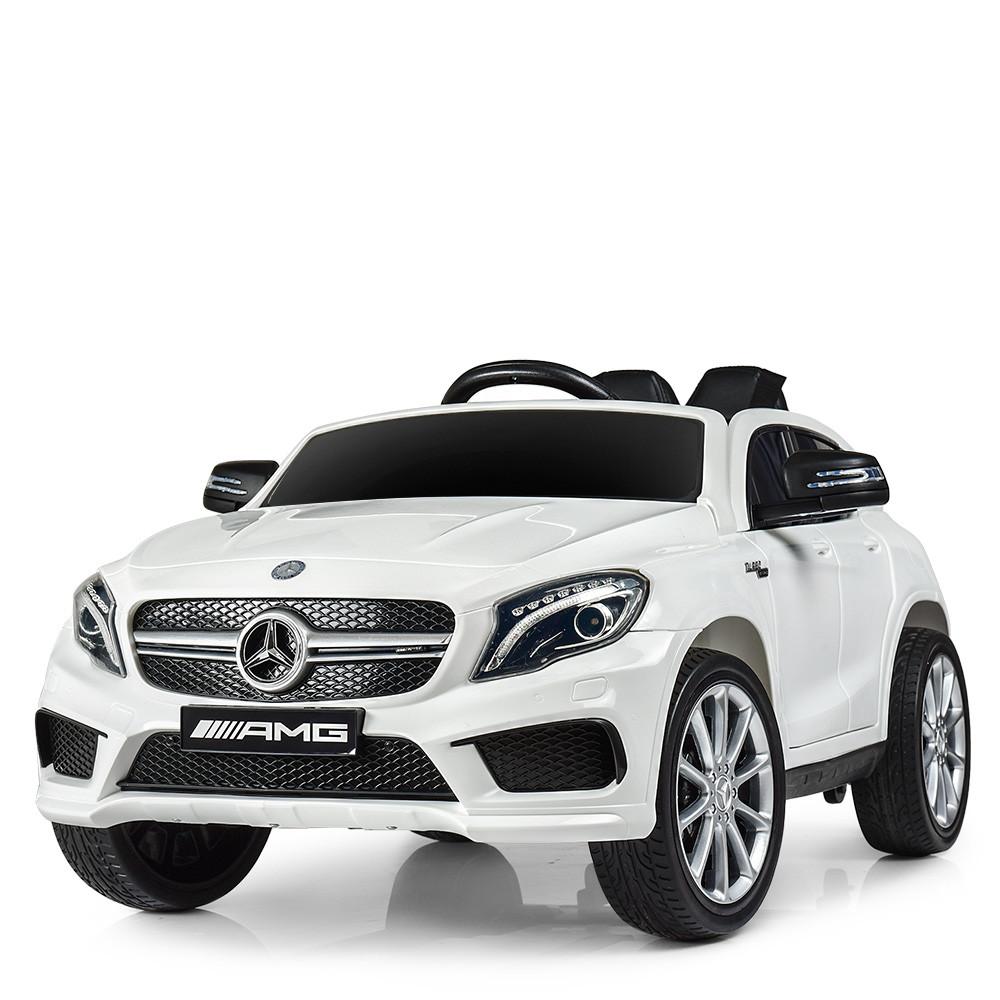 Электромобиль Машина M 4124EBLR-1 белый BAMBI