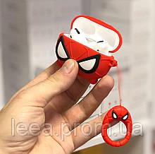Чехол 3D для Airpods PRO Человек Паук