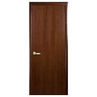 Межкомнатная дверь Новый стиль Колори Стандарт глухая 700 мм орех