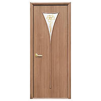 Межкомнатная дверь Новый стиль Бора 600мм ольха рисунок Р1