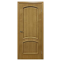 Межкомнатная дверь шпон Омис Капри 800мм глухая дуб