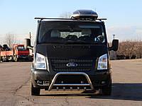 Защита переднего бампера (кенгурятник) Ford Transit (06 - 15), фото 1