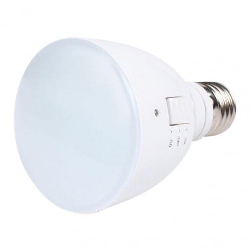 Светодиодная лампа с аккумулятором 4W (цоколь E27)