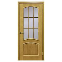 Межкомнатная дверь шпон Омис Капри 700мм под стекло дуб