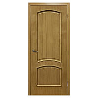 Межкомнатная дверь шпон Омис Капри 600мм глухая дуб