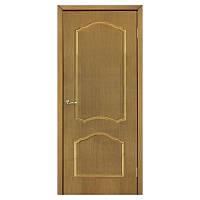 Межкомнатная дверь шпон Омис Каролина 800мм глухая дуб