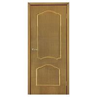 Межкомнатная дверь шпон Омис Каролина 900мм глухая дуб