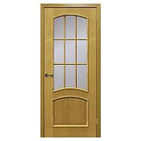 Межкомнатная дверь шпон Омис Капри 600мм под стекло дуб