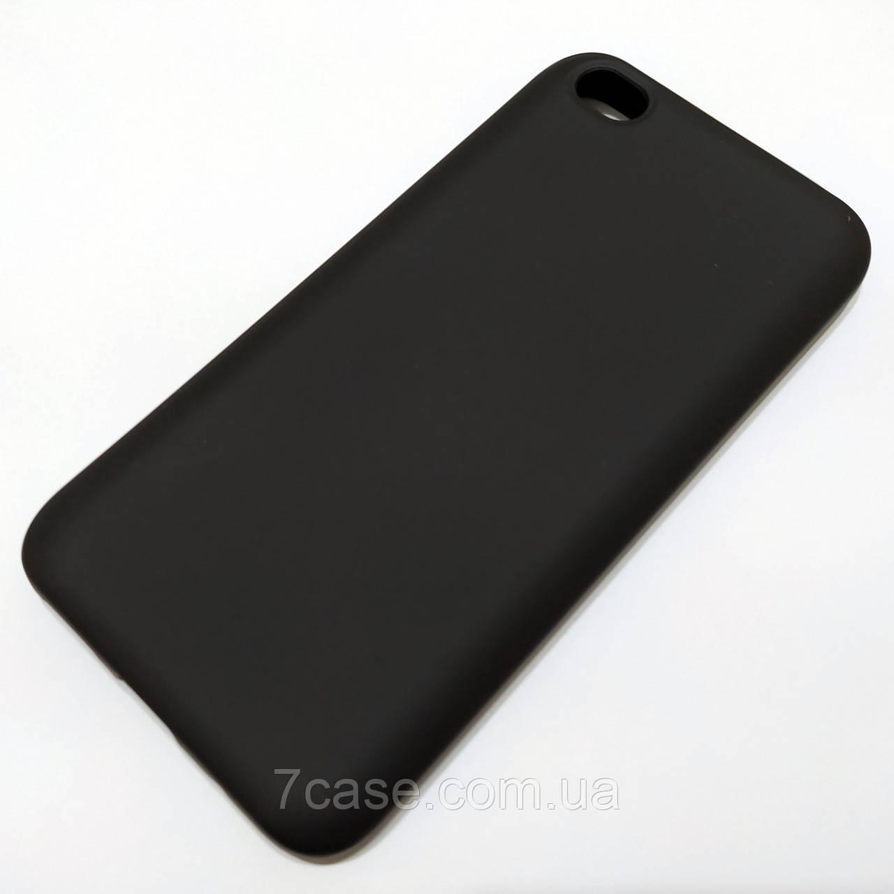 Чехол Silicone Cover для Xiaomi Redmi Go черный