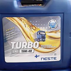 NESTE TURBO LXE 15/40 MULTI GRADE DIESEL ENGINE OIL APICI-4,CH 18kg
