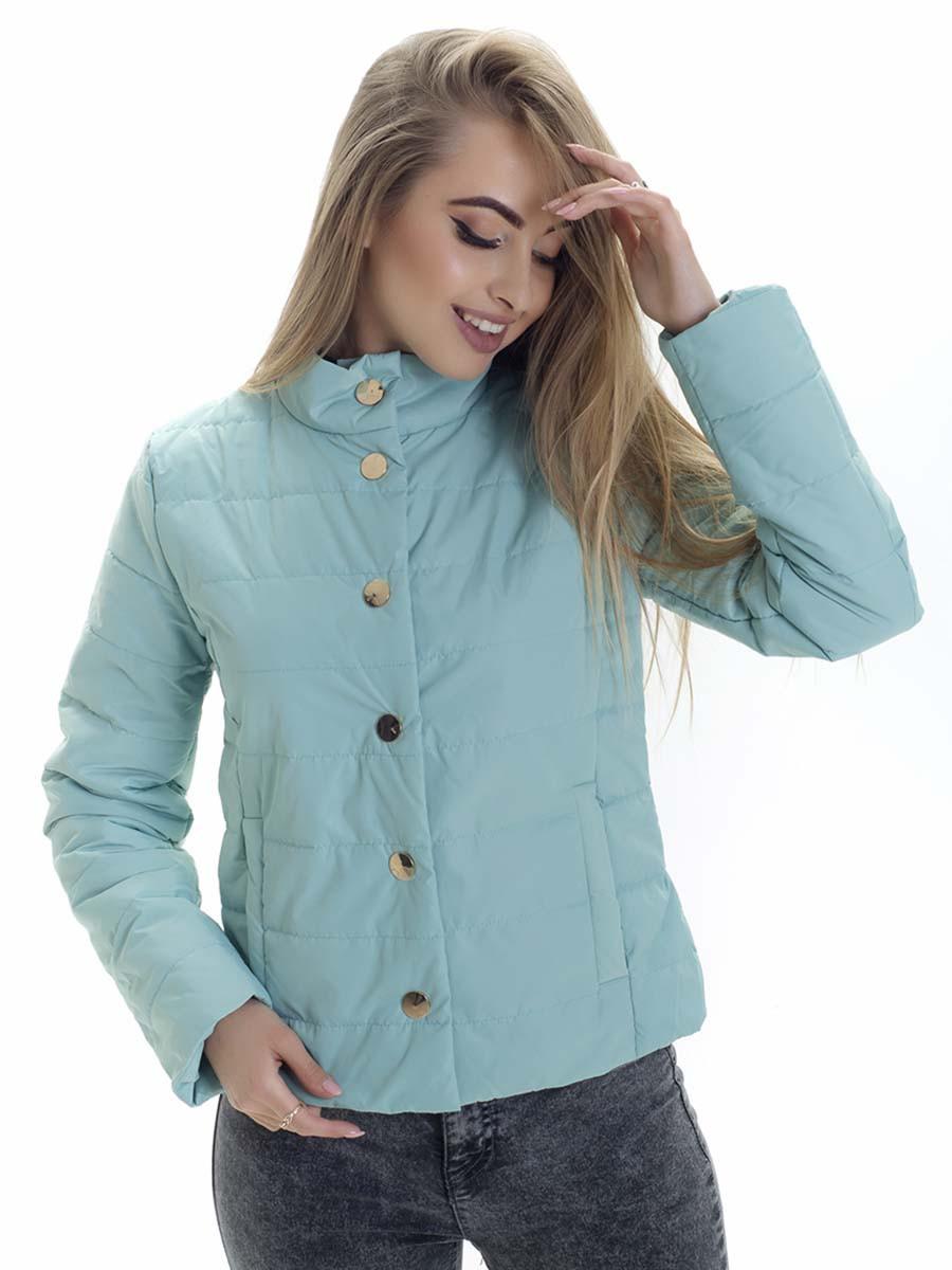 Женская демисезонная куртка Irvik SK156 мятная