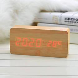 Оригинальные и стильные часы wood sensor (106710)