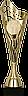 Кубок  8351, золотистый