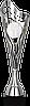 Кубок  8352, серебристый