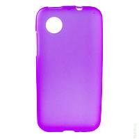 Чехол Original Silicon Case LG L7 II Dual/P715 Violet