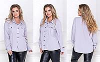 Женская блуза,блузы большие,красивая блуза, фото 1
