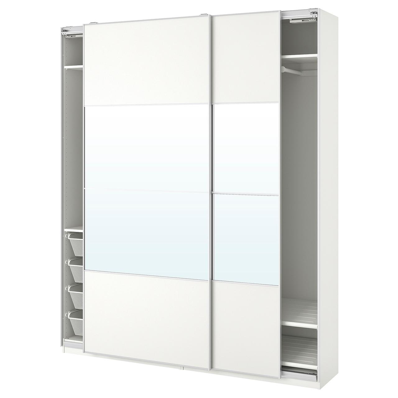 IKEA Шкаф с зеркалом PAX (393.057.45)