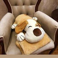 Детский плед игрушка Собака, фото 1