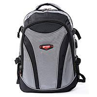 Рюкзак городской размер 48*30*20 серый, фото 1