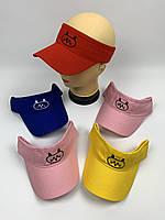 Солнцезащитные козырьки кепки оптом, размер 52-54 (ktm2090), фото 1