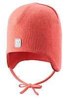 Демисезонная шапка для девочек Reima 518510-3330. Размеры 46 - 54.