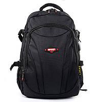 Рюкзак городской размер 48*30*20 черный, фото 1