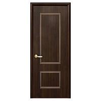 Межкомнатная дверь Новый стиль Порта ПВХ делюкс 600мм каштан рисунок Р1