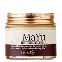Крем для лица восстанавливающий Secret Key Mayu Healing Facial Cream 70 мл (066)