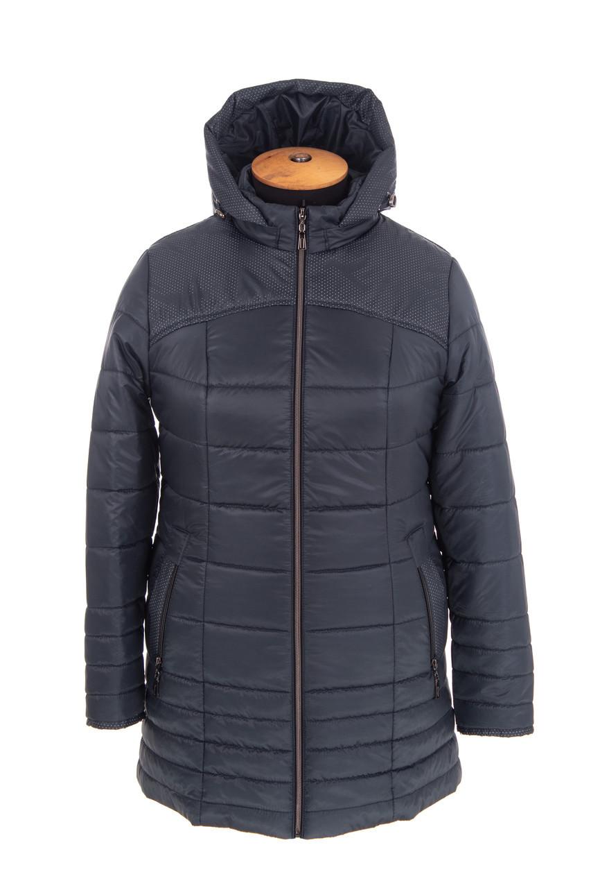 Женская весенняя куртка  большого размера  54-64  волна