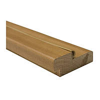 Дверная коробка Омис комплект сосна с уплотнителем 75*30*2050мм шпон дуб натуральный