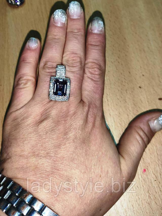 серебряное украшение натуральный турмалин сапфир купить украшения