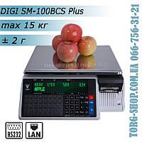 Весы DIGI SM 100BCS Plus