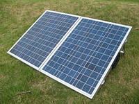 Сонячний зарядний пристрій SC-100P, 100 Wp, POLY, фото 1