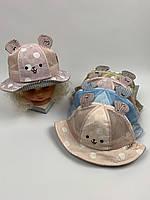 Детские панамы для девочек, размер 48 (ktm2092), фото 1