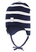 Демисезонная шапка для мальчика Reima 518510-6981. Размеры 48 - 52.