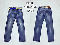 Джинсовые брюки на мальчиков оптом, F&D, 134-164 рр